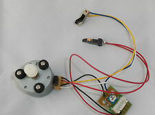 Turntable record player deck motor - with switches - NO SOLDERING - ready to fit