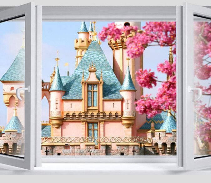 3D Niedlich Schloss Fenster 84 Tapete Wandgemälde Tapete Tapeten Bild Familie DE    Große Auswahl    Haben Wir Lob Von Kunden Gewonnen    Deutschland
