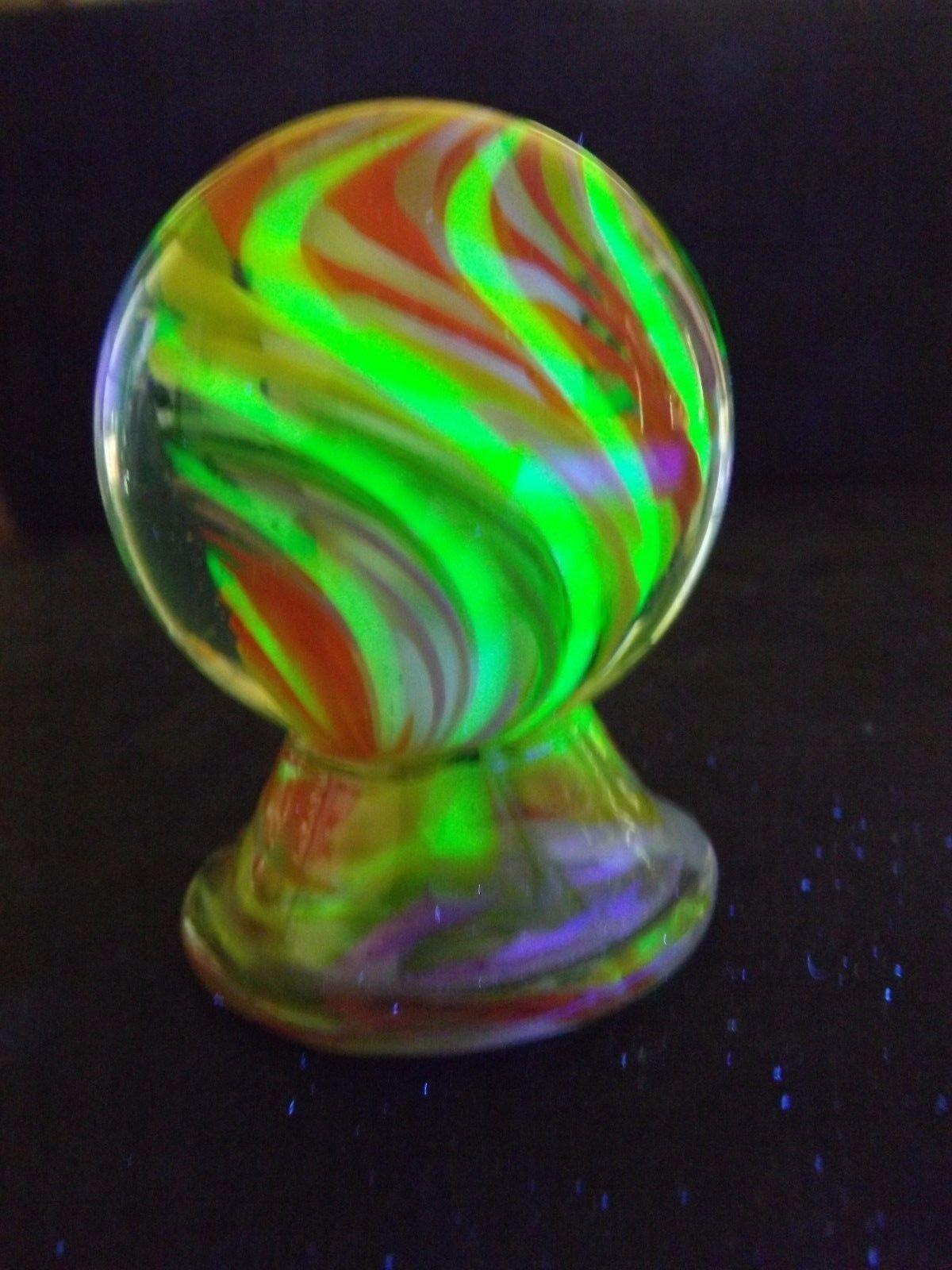 Sehr selten 2011 sammy hogue w   boyd vaseline schwenken tornado 2  glas, marmor w stehen