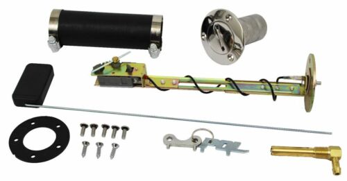 1948-64 Ford F100 Truck Bed Fill Gas Tank Install Kit Stainless Steel 30 Ohm