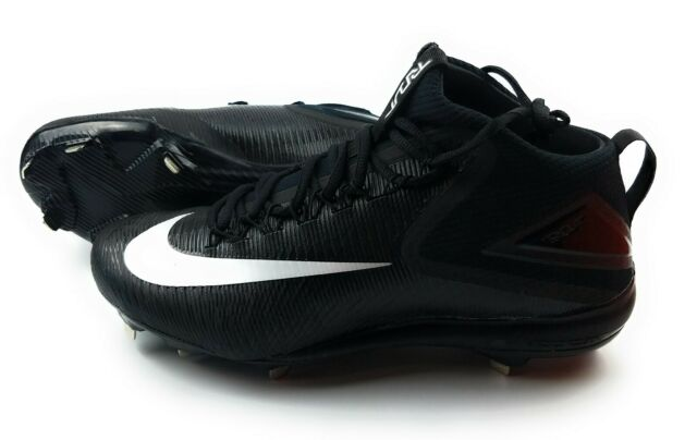 best website 8c895 1376a Nike Zoom Trout 3 Metal Baseball Cleats Mens Size 11.5 Black White  856503-011