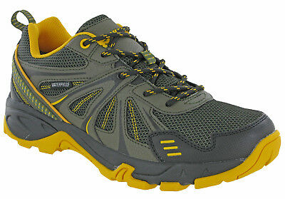 2019 Neuer Stil Hi-tec Hurricane Waterproof Mens Walking Trail Hiking Trainers Shoes Uk7-13