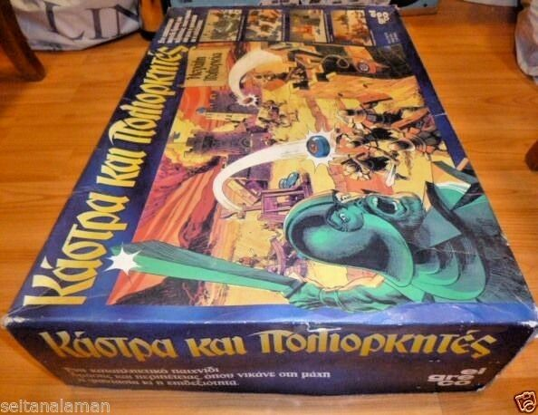 AMAZING GREEK BOARD GAME CROSSBOWS & CATAPULTS BIG SIEGE & & & UNIQUE EXTRA PARTS 6960ad
