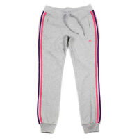 Adidas Womens Grey Climalite Exercise Gym Training Tracksuit Pant Bottoms Xs