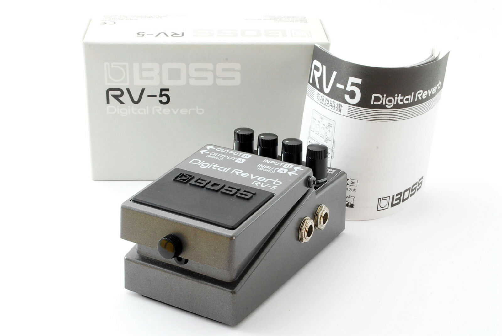 BOSS RV-5 Digital Reverb w Box,Manual  Used In JAPAN A620