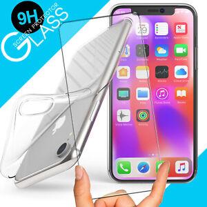 360 Grad Schutz Hülle Handy Slim Cover + Gorilla Display Glas Folie 9H