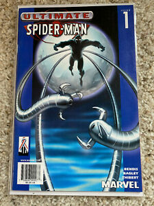 2002-Ultimate-Spider-Man-1-034-BLUE-COVER-TARGET-VARIANT-LIMITED-EDITION-034-Rare