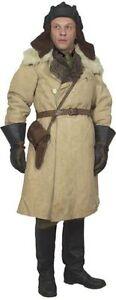 Coat-USSR-Army-Jacket-SHEARLING-Sheepskin-Tulup-Winter-Bekesha-size-52