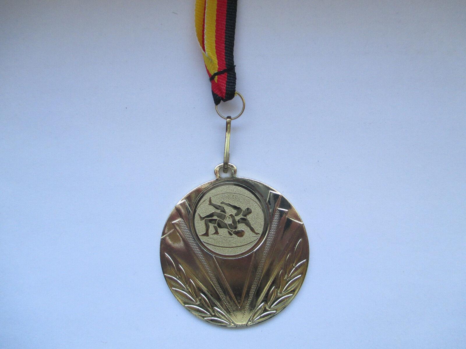 Ringen Pokal Pokal Pokal Kids 100 x Medaillen Deutschland-Bändern Turnier Ringensport (e247) c22a82
