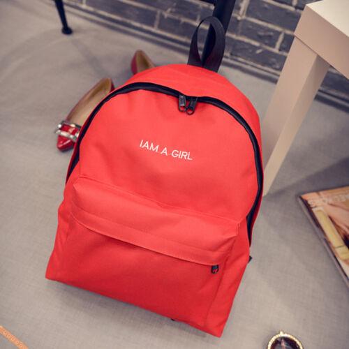 Womens Girls Backpack Shoulder Bag School Travel Laptop Book Rucksack Satchel US