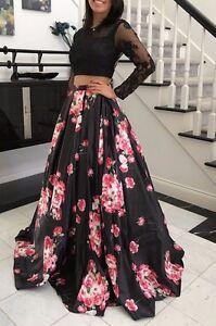 Long Floral Prom Dresses