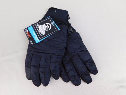 Isotoner SmarTouch Sleek Heat Packable Touch Screen Ski Tech Gloves L//XL #6041