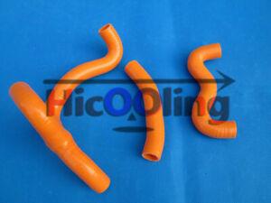 Orange-silicone-radiator-Y-hose-for-KTM-50SX-50-SX-2012-2013-2014-2015-2016