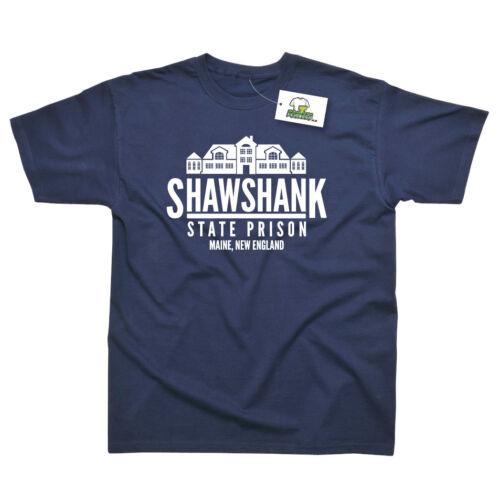 Shawshank State Prison Inspired by Shawshank Redemption Printed T-Shirt