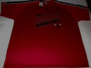 online store 75a44 431a6 Details about Chicago Bulls Synthetic Jersey Shirt 2XL Red Big & Tall Stay  Dry Majestic NBA