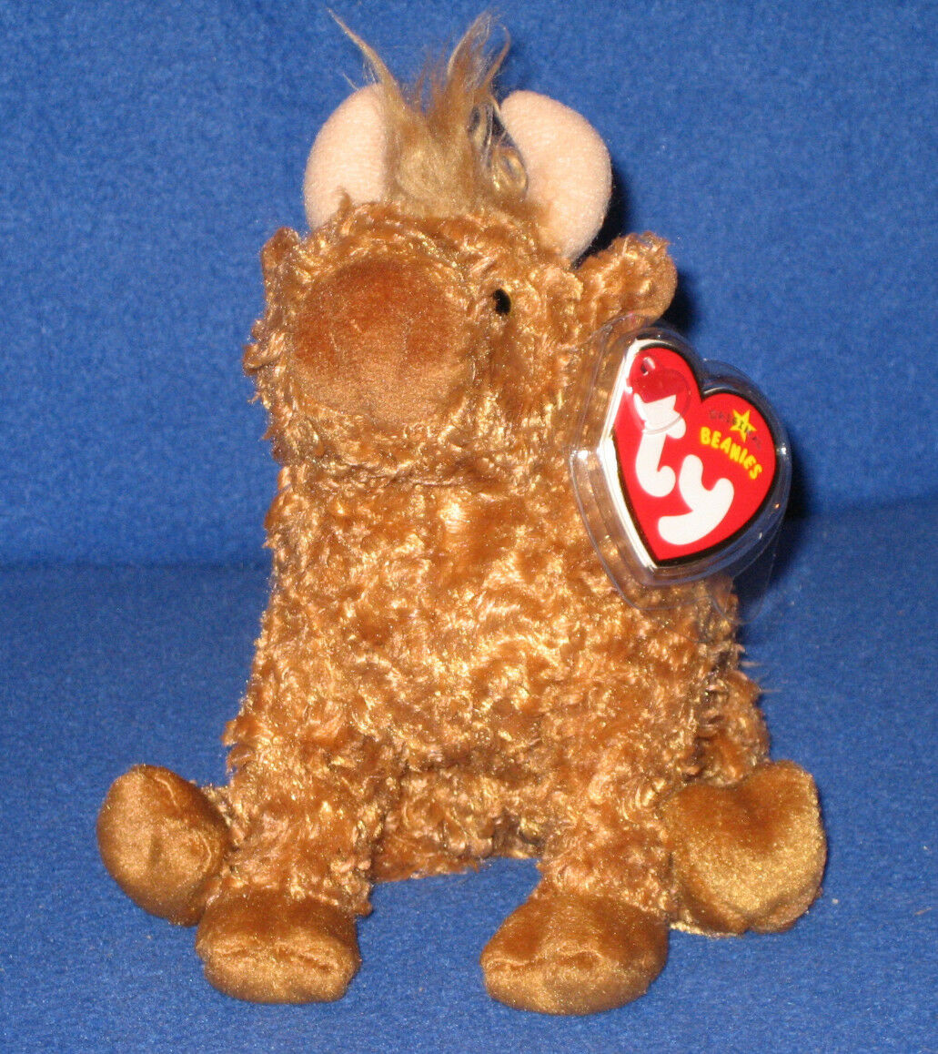 TY HAMISH the HIGHLAND COW  BEANIE BABY - MINT with MINT TAGS - UK EXCLUSIVE