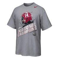 Alabama Crimson Tide 2011 National Champions t-shirt Nike new Football Bama Roll