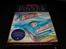 Harry Potter and the chamber of secrets by J. K. Rowling hardback 7th ted smart