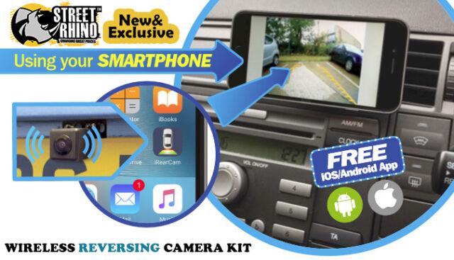Wireless Universal Reversing Camera Kit iOS Android