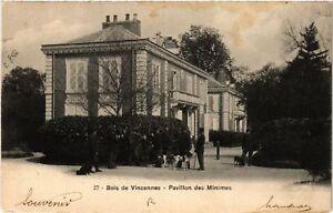 CPA Bois de Vincennes - Pavillon des Minimes (519734) xTvlORMJ-09155537-678799211