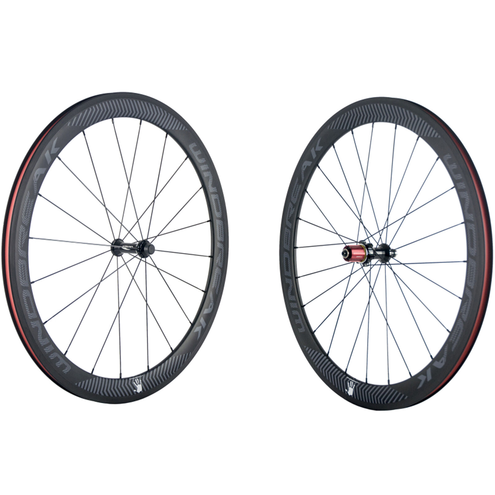 WINDBREAK 50mm Clincher Carbon Cycling Carbon Wheels Bicycle Carbon Wheelset