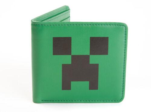 PU Bifold Wallet Creeper Face Official JINX Minecraft