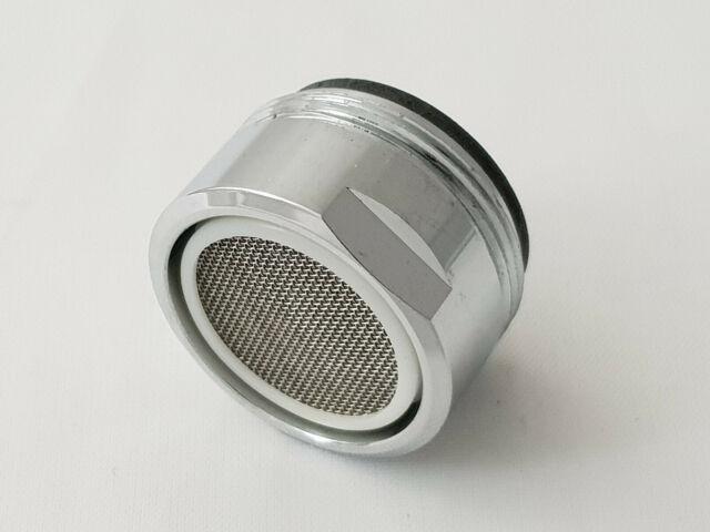 1x Mischdüse Luftsprudler Strahlregler Außengewinde M24 für Wasserhahn verchromt