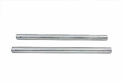 Hard Chrome 39mm Fork Tube Set 23-3//8  Total Length,for Harley Davidson,by V-...