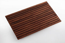 Teak Wood Shower/Pool/Spa/Bath/Deck Mat 31.4 x 19.6 in