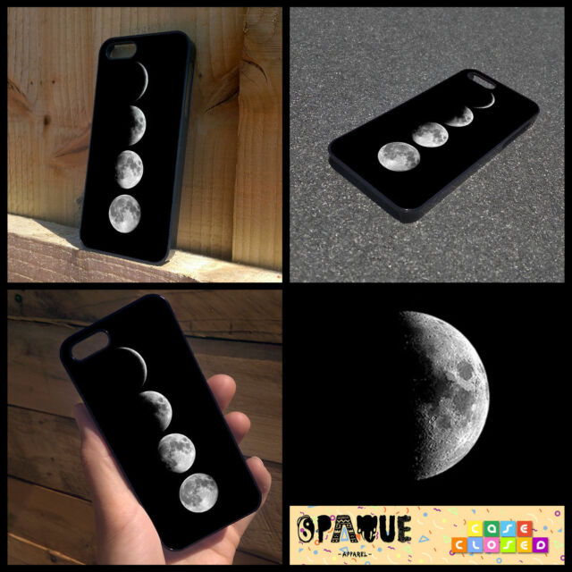 MOON PHASES PRINT TUMBLR For iPhone Samsung HTC Hard or Rubber Case Cover