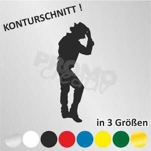 Details Zu Michael Jackson Silhouette Autoaufkleber Sticker Aufkleber 3 Größen