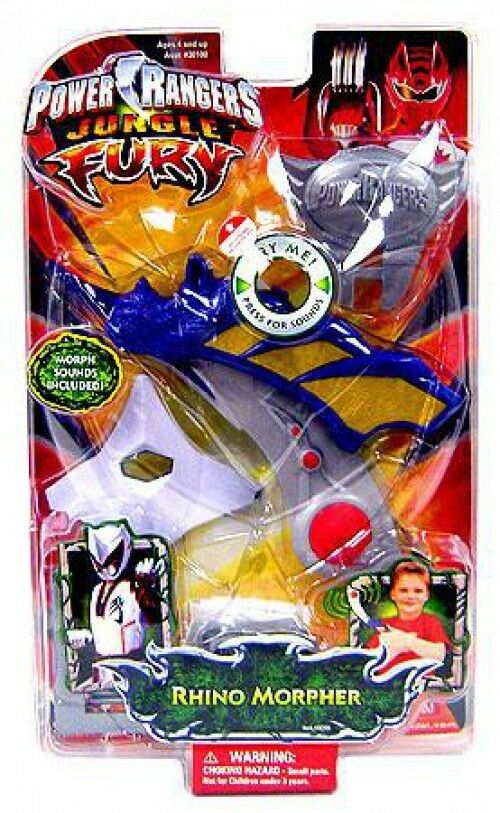Power Rangers Jungle Fury Rhino Morpher Roleplay Toy