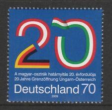 Germania 2009 ANNIV DI APERTURA DEL CONFINE TRA AUSTRIA E UNGHERIA SG 3622 Gomma integra, non linguellato