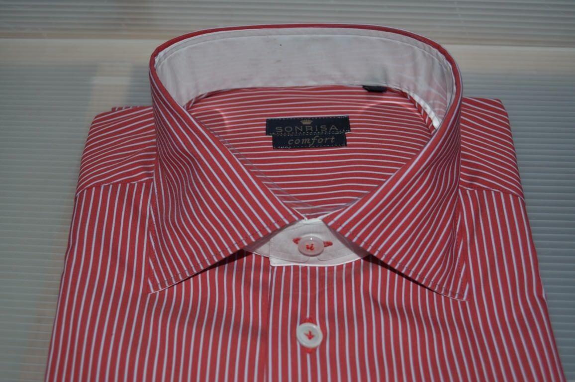 Sonrisa - T-shirts-Hemden-hals-frankreich - mann - 643615C184106