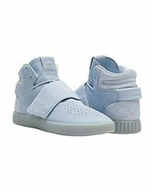 Adidas Mens Tubular Invader Strap Easy bluee High Top Sneakers NIB Size 13