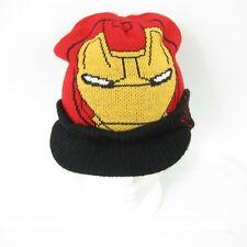 85db7688 Buy Marvel Avengers Iron Man Kids Flipeez Action Knit Cap Beanie Hat ...