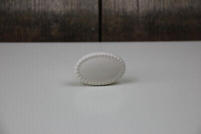 Clayre/&Eef Griff  Möbelgriffe Möbelknopf Kommodenknopf Shabby*4x3 Keramik weiss