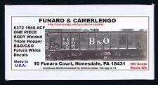 Funaro F&C 8372  BALTIMORE OHIO Chesapeake  B&O C&O Welded Triple Hopper 1-PIECE