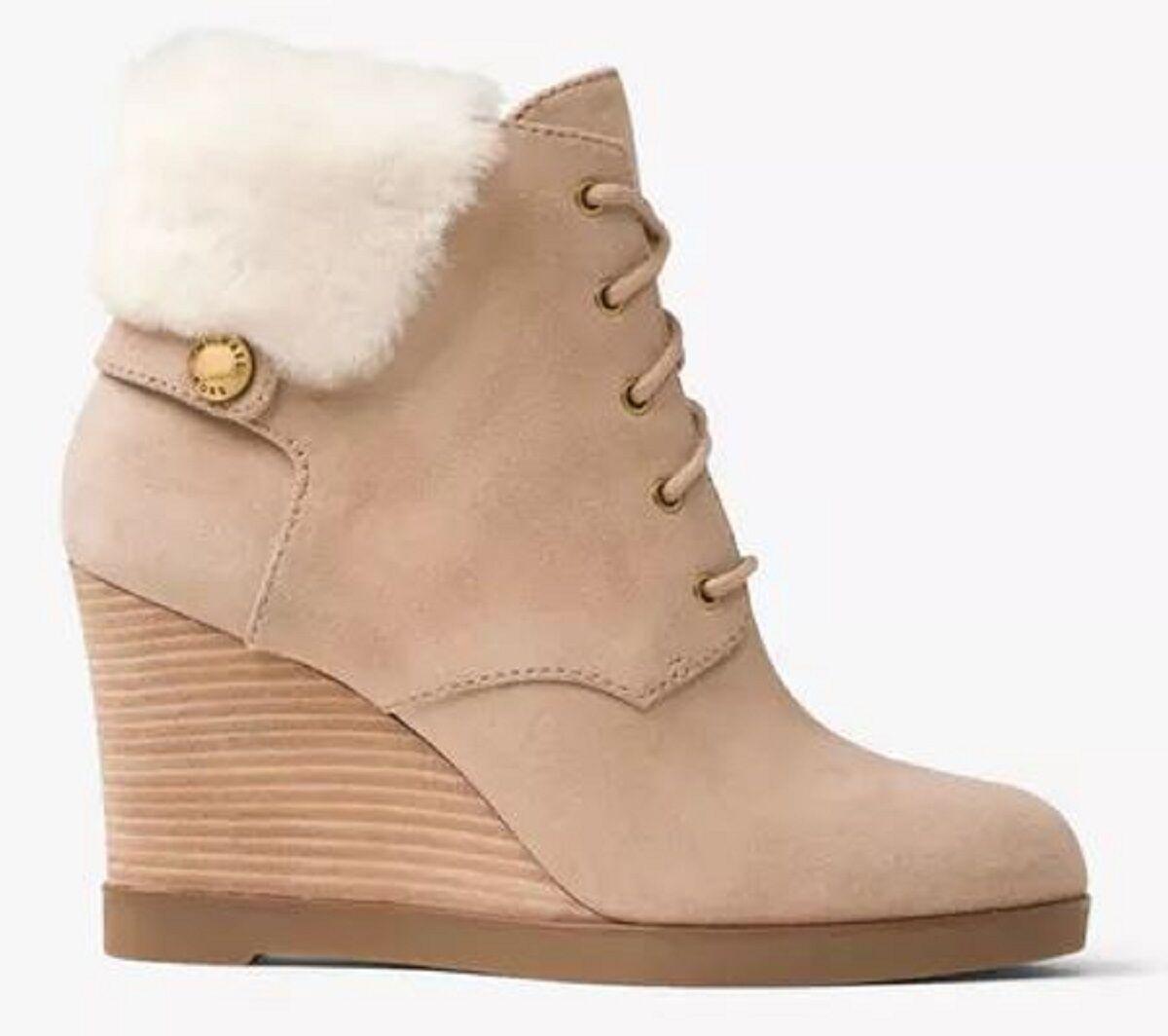 Ankle Boots Suede Dark Khaki