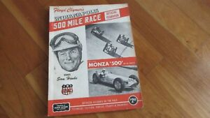 1957-Indy-500-Indianapolis-race-yearbook-F-Clymers-annual-Sam-Hanks-wins-Offy
