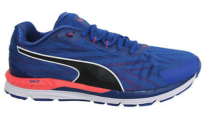 Puma Ignite 2 Speed 600 Lace Up Blue Pink Textile Mens ...