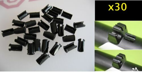 MTB BIKE OUTER CLIPS//CABLE HOUSING GUIDES FOR FIXING BRAKE WIRES IN CYCLE FRAME