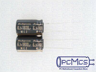 68uf 25v Radial Electrolytic Capacitor 25v68uf  Rubycon ZLH 105℃ 10pcs-