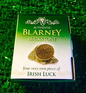 Authentic-Irish-Blarney-Stone-Your-Own-Piece-of-Irish-Luck-Gift-OF-The-Gab