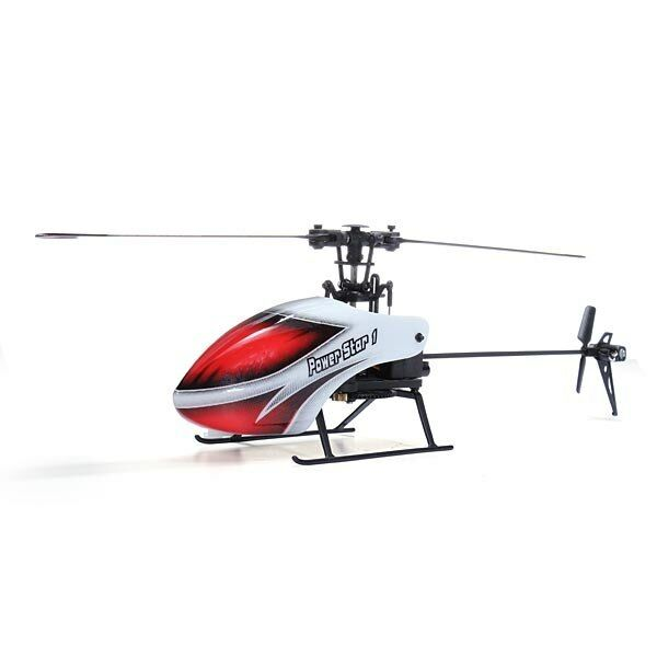 Mini Elicottero Radiocomandato WL V966 Power Star 1 Flybarless 6 Canali 2.4Ghz