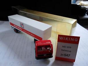 Wiking-autos1-x-MB-1619-Sattelzug-Sammlungs-aufloesung