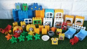 LEGO-DUPLO-Mixed-House-Bricks-Bundle-Blocks-Pieces-Clean-Condition-FREE-POST