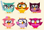 DMC-Owls-Cross-Stitch-Embroidery-Pattern-Kit-Chart-PDF-Home-Decor-Gift-14-Count thumbnail 4