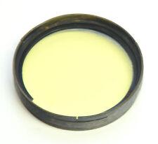 Push-on 42mm Yellow Filter Orthocolor 1/42 LIFA