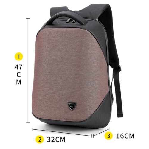 Anti Theft Smart School College Travel Backpack Safe Bag USB Charging Laptop hot